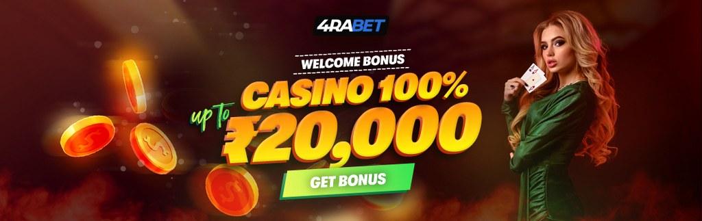 4RABET casino bonus banner