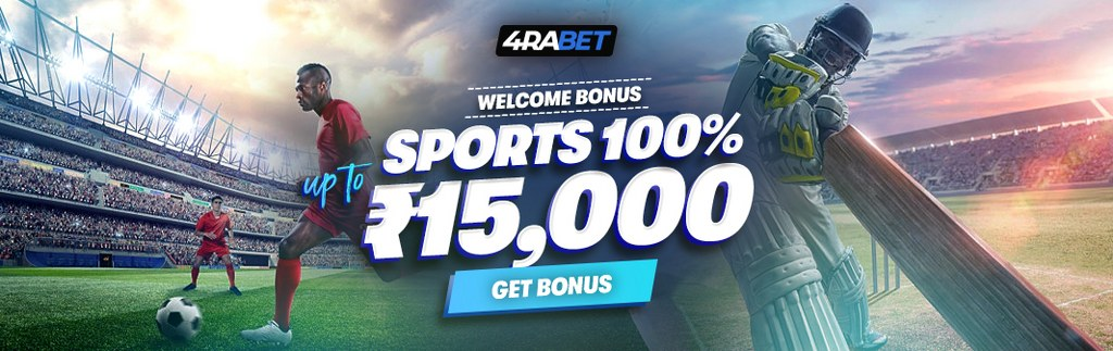 4RABET sports bonus banner